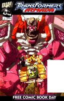 Free Comic Book Day 2003 - Transformers Armada #1